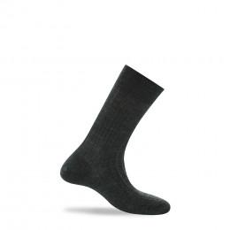 Mi-chaussettes en pure laine