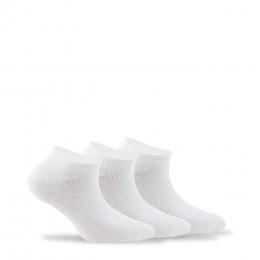 Lot de 3 paires d'invisibles en coton