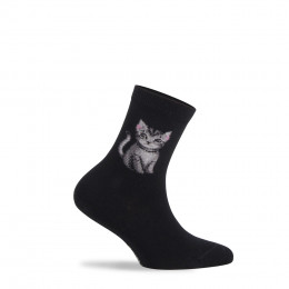 Mi-chaussettes Misty en coton