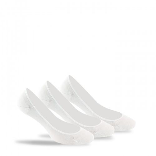 Pack de 3 paires de protèges pieds unis invisibles ultra-fin
