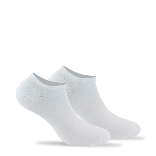 Lot de 2 invisibles unies en pur coton
