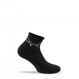 Socquettes ultra-coutes Bracelet marin en coton